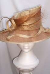 off centre oval hat