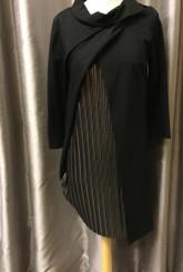 Latte Mock Wrap Dress