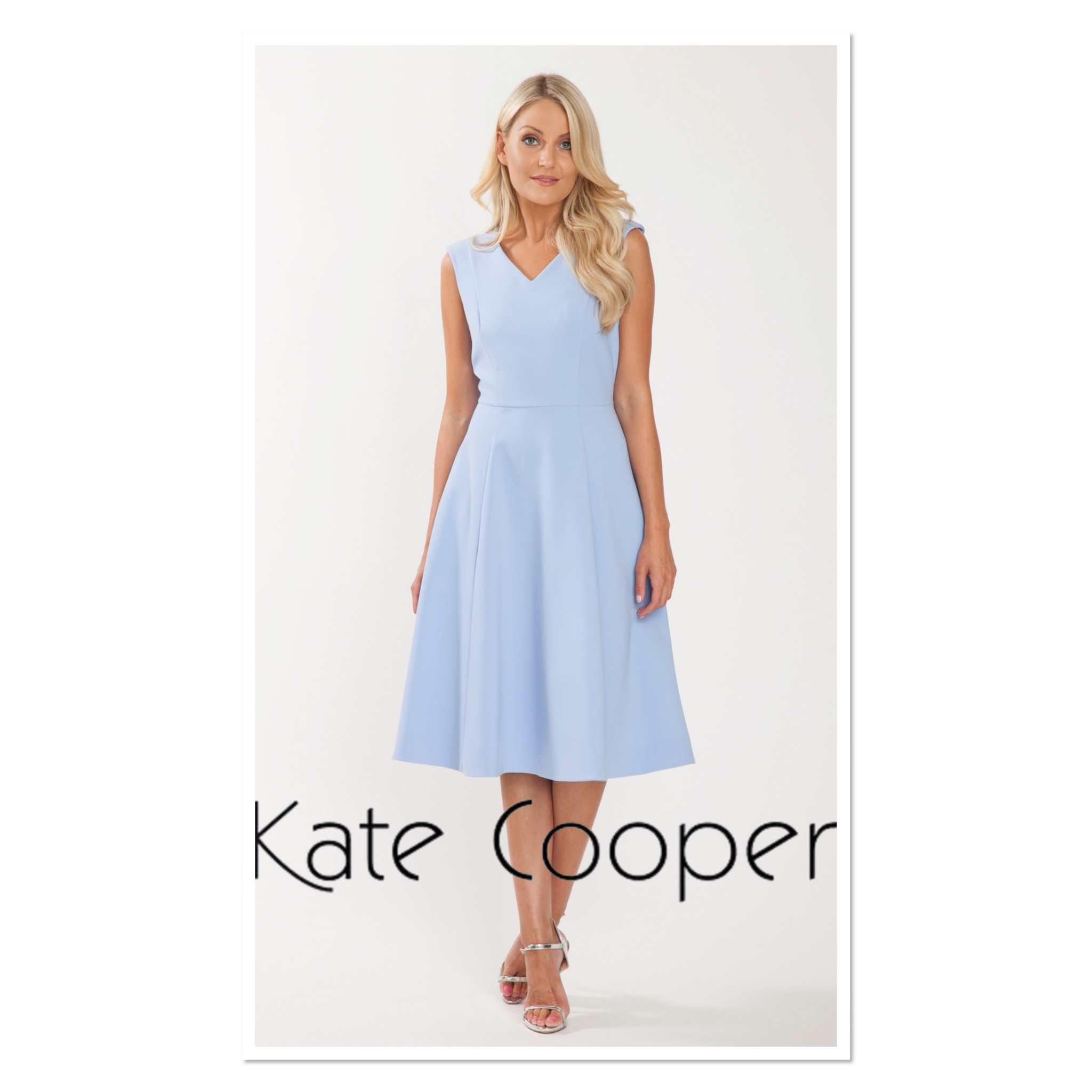 ba10c017311fb0 Kate Cooper Ocean Flared Dress