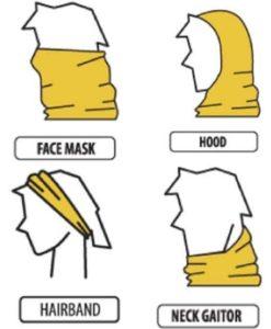 Multiway Snood Masks